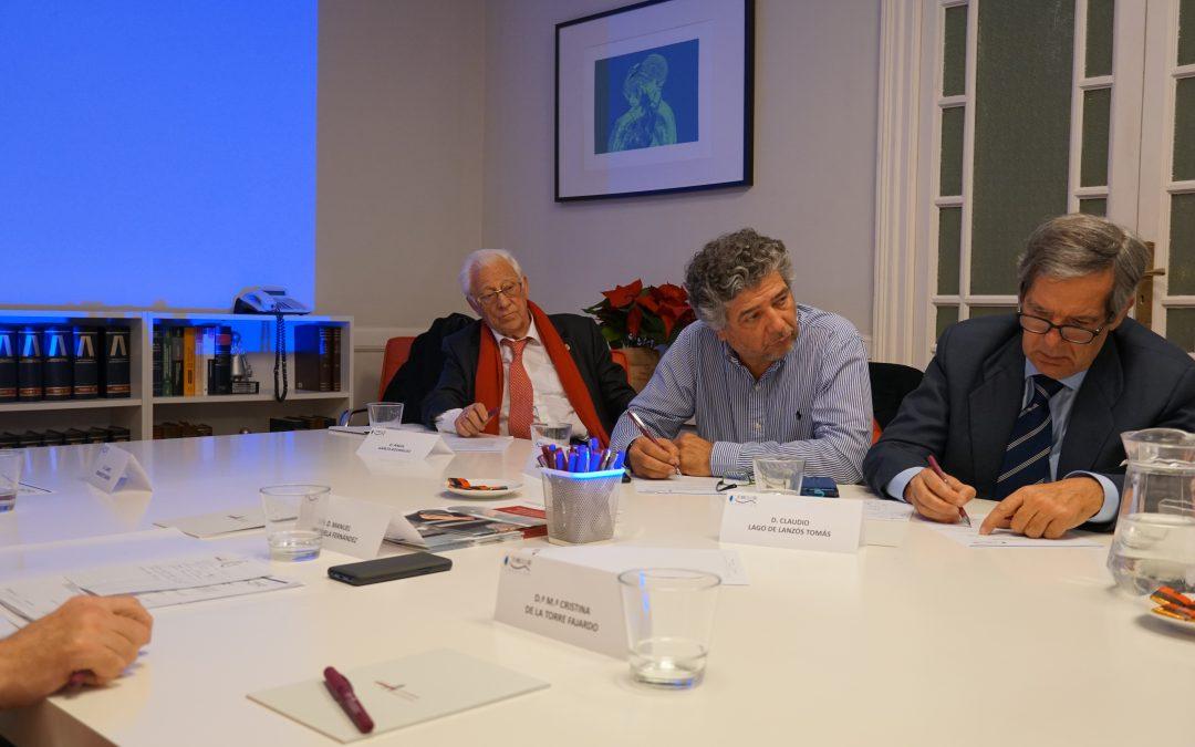 La Fundación Dr. Manuel de la Torre presenta nuevos proyectos en reunión con el Patronato