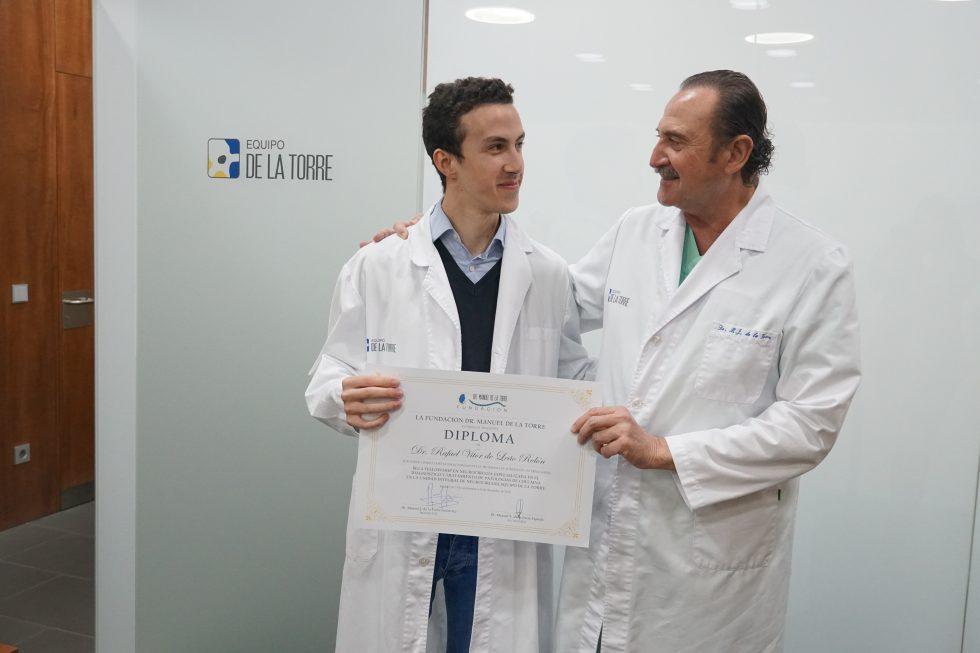 El Dr. Rafael Rolón finaliza con un gran éxito la beca Fellowship 2019